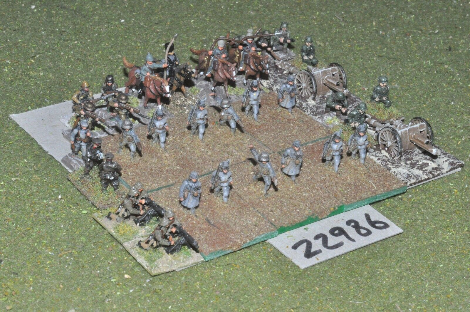 15mm 15mm 15mm WW1   german - mixed 34 figures - inf (22986) 37a70a