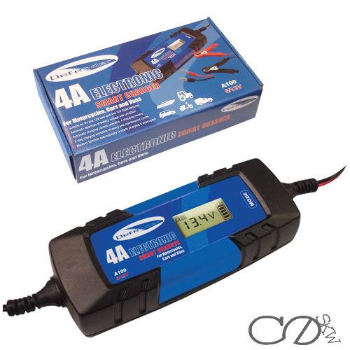 Defender A100 6 12v 4 Amp Car Battery Charger Ebay