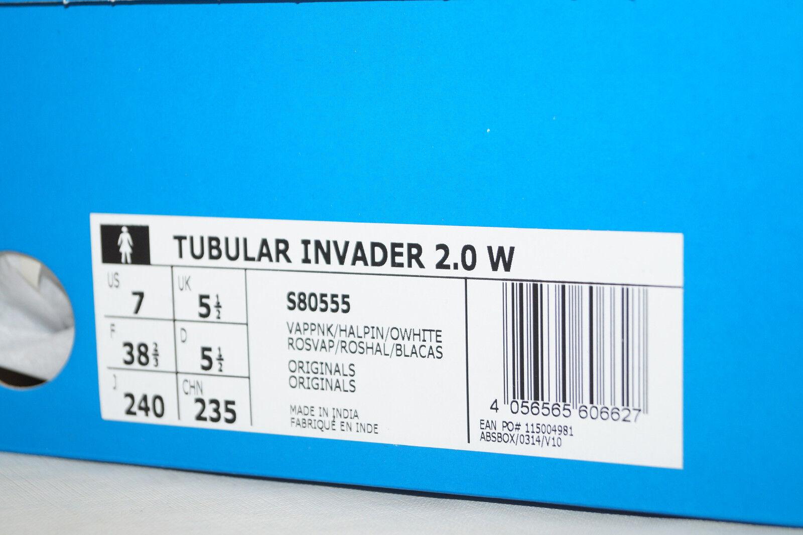 Adidas originals TUBULAR INVADER 2.0 pink W 38.6 UK 5.5 pink 2.0 S80555 Sneakers a193df