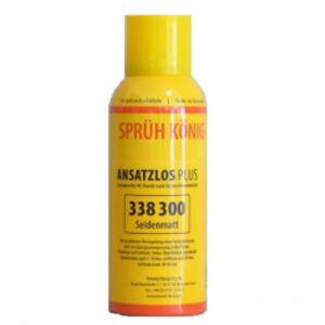 Sprueh-Koenig-Ansatzlos-PLUS-Seidenmatt-150-ml-Parkettlack-Spruehlack-Loba