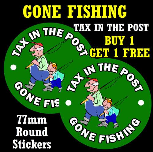 Spinti da pesca-imposta nel post-divertente auto adesivo-sostituire i vecchi imposta DISC + 1 libero