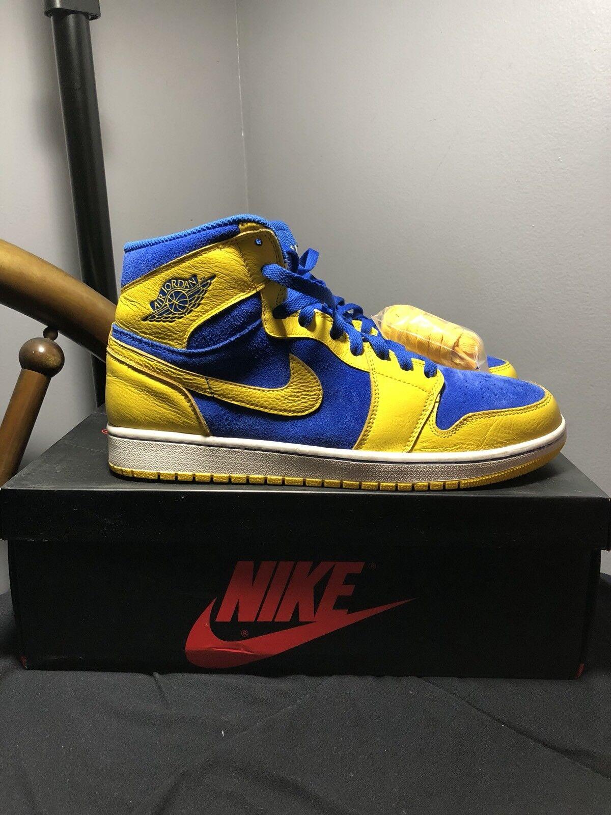 Air Jordan Jordan Jordan 1 Lanely Blau Gelb One c9df57
