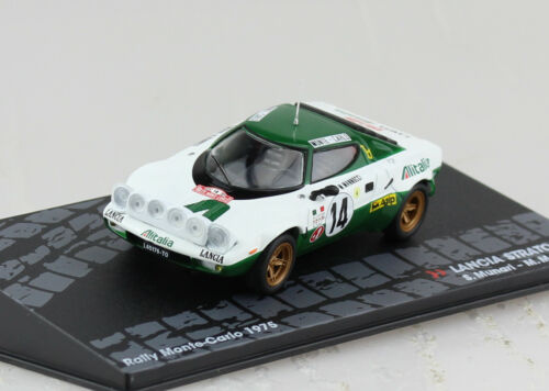 Lancia Stratos HF Rally Monte Carlo 1975 #14 1:43 Altaya Modellauto