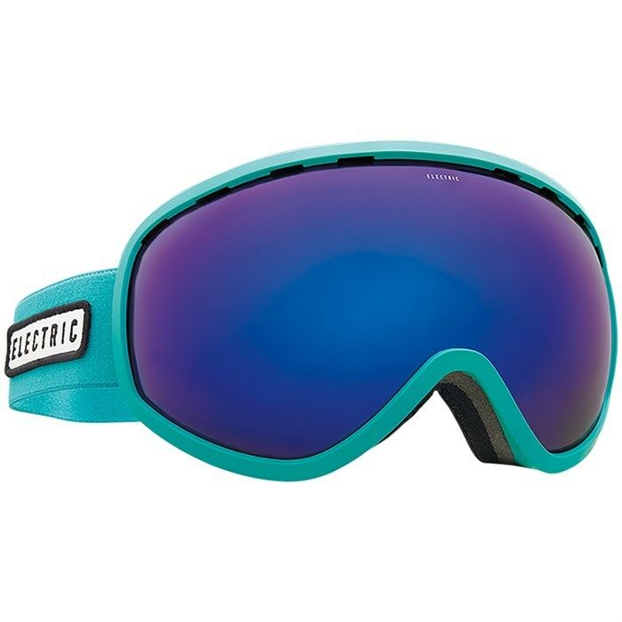 Electric Visual Mesher Turquoise Snowboarding Goggles (Borse   bluee Chrome)