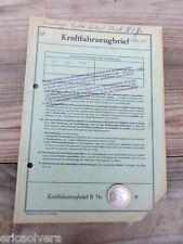 ZÜNDAPP BELLA 204 ROLLER Bj. 1960 ORIGINAL LITERATUR DATENBLATT ! HUCH