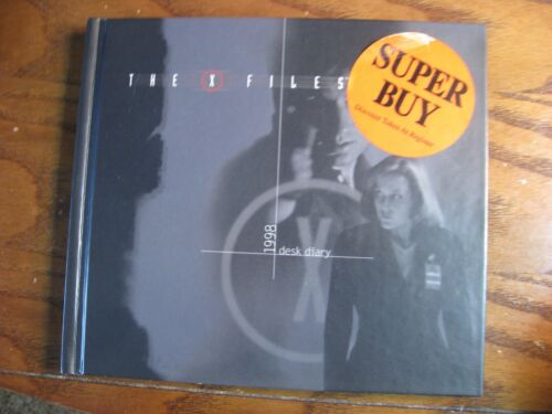 The X Files 1998 Desk Diary - Hardcover Book with photos