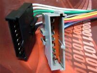 Lincoln Radio Wire Harness Install Stereo Plug 1986-95