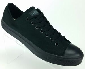 3bd3e131110b9 Converse Chuck Taylor All Star Oxford Low Black Canvas Shoes ...