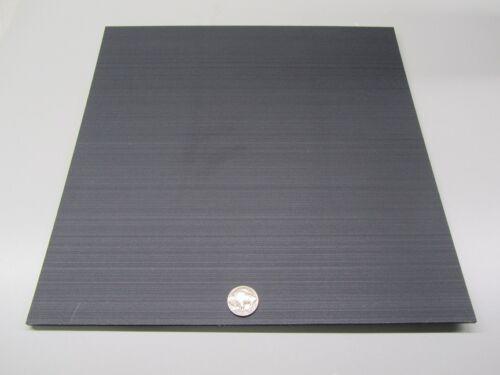 "3//16/"" Tivar UHMW PE Black Sheet .187/"" Thick x 12/"" Wide x 12/"" Length 4 Units"