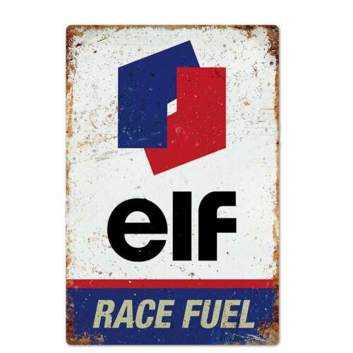 "TIN SIGN Elf Race Fuel 8/""x12/"" Metal Plaque Decor Wall Art Oil Gas Station"
