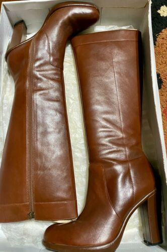 Tommy Hilfiger Jackie Mid Brown Boots