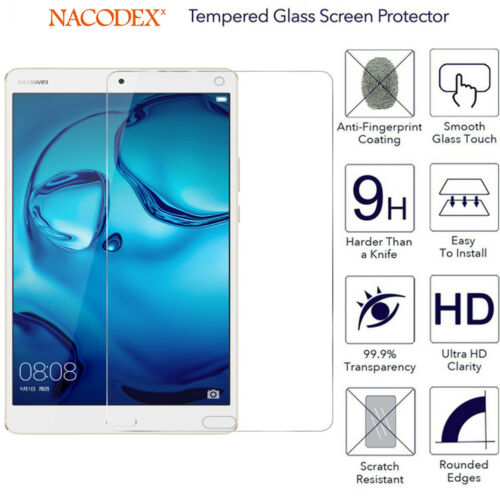 For Huawei MediaPad M3 8.4-inch HD Tempered Glass Screen Protector 9H Glass