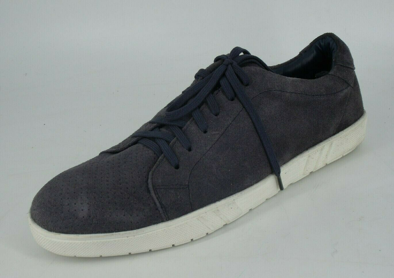 Cotton Traders Men's Suede Lace-up shoes bluee AQ11822 NH093 CC 05