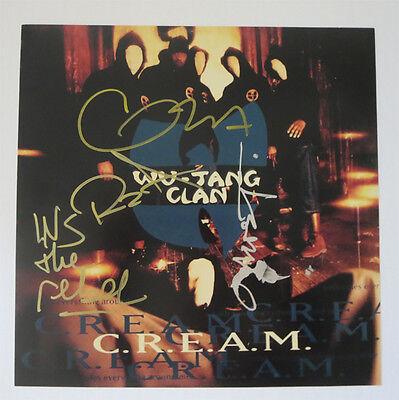 WU TANG CLAN signed 12X12 ALBUM COVER photo CREAM | eBay