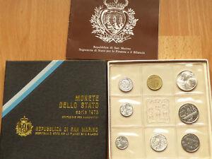1973 r.San Marino - UNC set - Kielce, Polska - 1973 r.San Marino - UNC set - Kielce, Polska