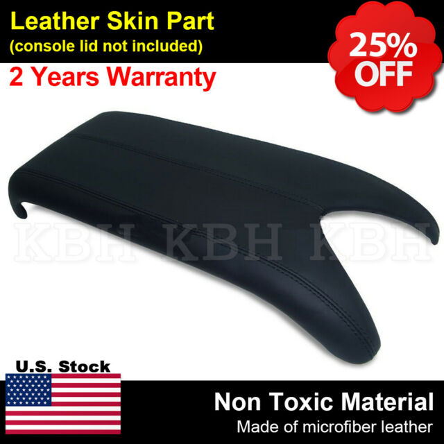 Leather Center Console Lid Armrest Cover Fits For Acura