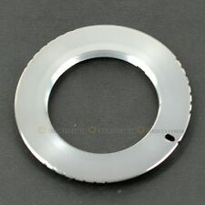 Silver M42-AF M42 Lens To SONY Minolta MA Adapter Ring A900 A550 A500