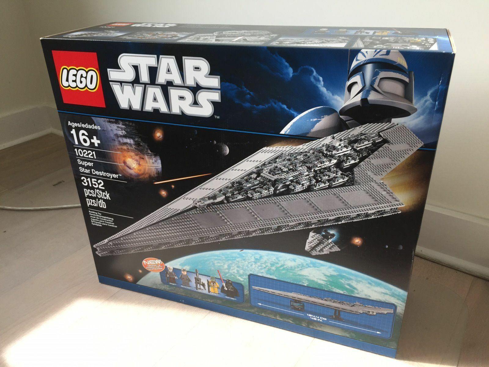benvenuto per ordinare LEGO estrella guerras 10221 UCS SUPER estrella DESTROYER NIEUW- nuovo- nuovo- nuovo- NEUF- NEU  negozio a basso costo