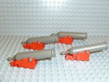 LEGO® Piraten Western 4x Kanone + Lafette rot 6285 6277 6289 6286 6276 R1208