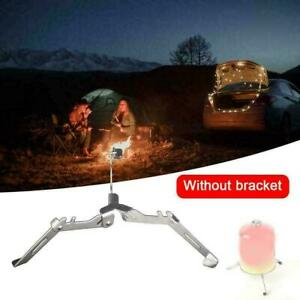 Steel Outdoor Camping Gas Tank Stove Base Holder Folding Stand B7A2 B4C1