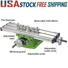 Diy Multi Function Mini Milling Machine Lathe With Cross Slide Bench 31090mm