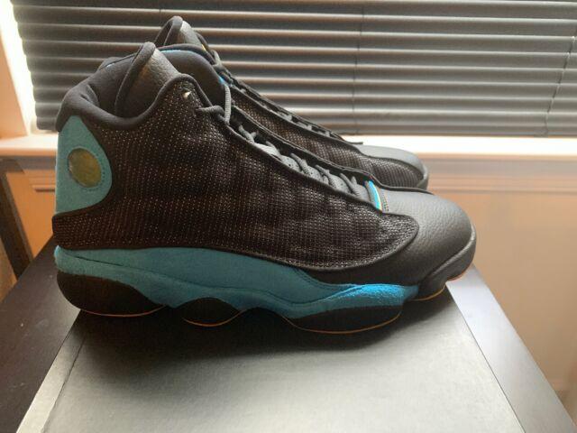 1d7a5738757360 2015 Nike Air Jordan 13 XIII Retro Cp3 PE Hornets Away Black Sz Size ...
