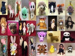 TY Beanie & Soft Toy Animals Beanies #1