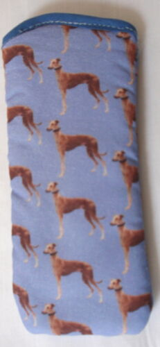 GREYHOUNDS  GLASSES CASE Ideal small gift