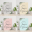 Personalised-Green-Foliage-Light-Colours-Wedding-Welcome-Sign-Board-A1-A2-A3 thumbnail 1