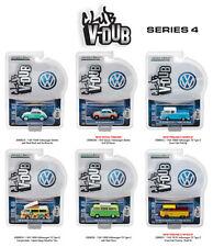 GREENLIGHT VEE V DUB SERIES 4, SET OF 6 CARS 1/64 DIECAST CARS GREENLIGHT 29860