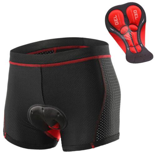 Men Women 3D Padded Bicycle Cycling Bike Shorts Underwear Soft Pants Gifts L0K1