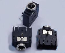 "100PCS 5-pin 1/8"" 3.5mm Stereo Jack Socket PCB Panel Mount for 3.5MM Headphone"