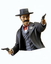"1/6 SCALE BUST RESIN KIT/  ""WYATT EARP"" AMERICAN WESTERN LAWMAN"