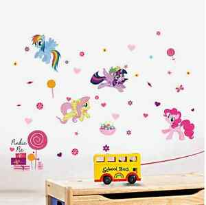 my little pony kids room decor quote wall sticker wall decals
