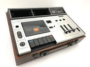 SONY-Stereo-Cassette-Corder-TC-133-Speakers-Vintage-1972-Refurbished-Like-NEW