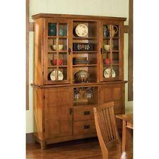 Home Styles Arts U0026 Crafts China Cabinet   Cottage Oak