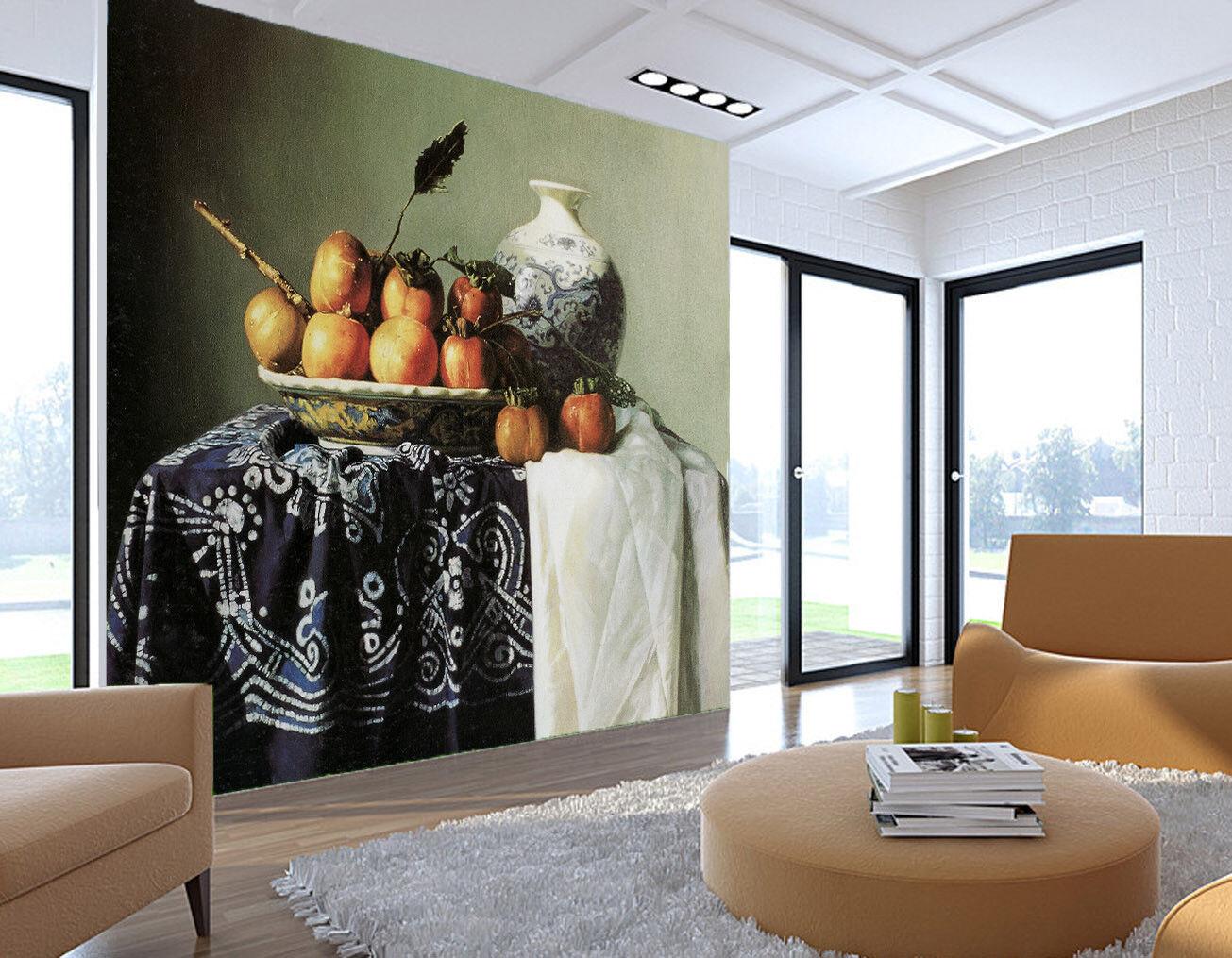 Papel Pintado Mural Vellón Pintura Al Oleo Arte Clásico 1 Paisaje Fondo Pantalla
