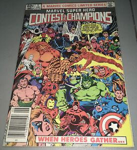 Marvel Super Hero Contest of Champions #1 Newsstand Variant