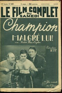 new arrival best online available Détails sur Le Film Complet 2397 - Champion malgré lui (Victor MacLaglen) -  6 avril 1940