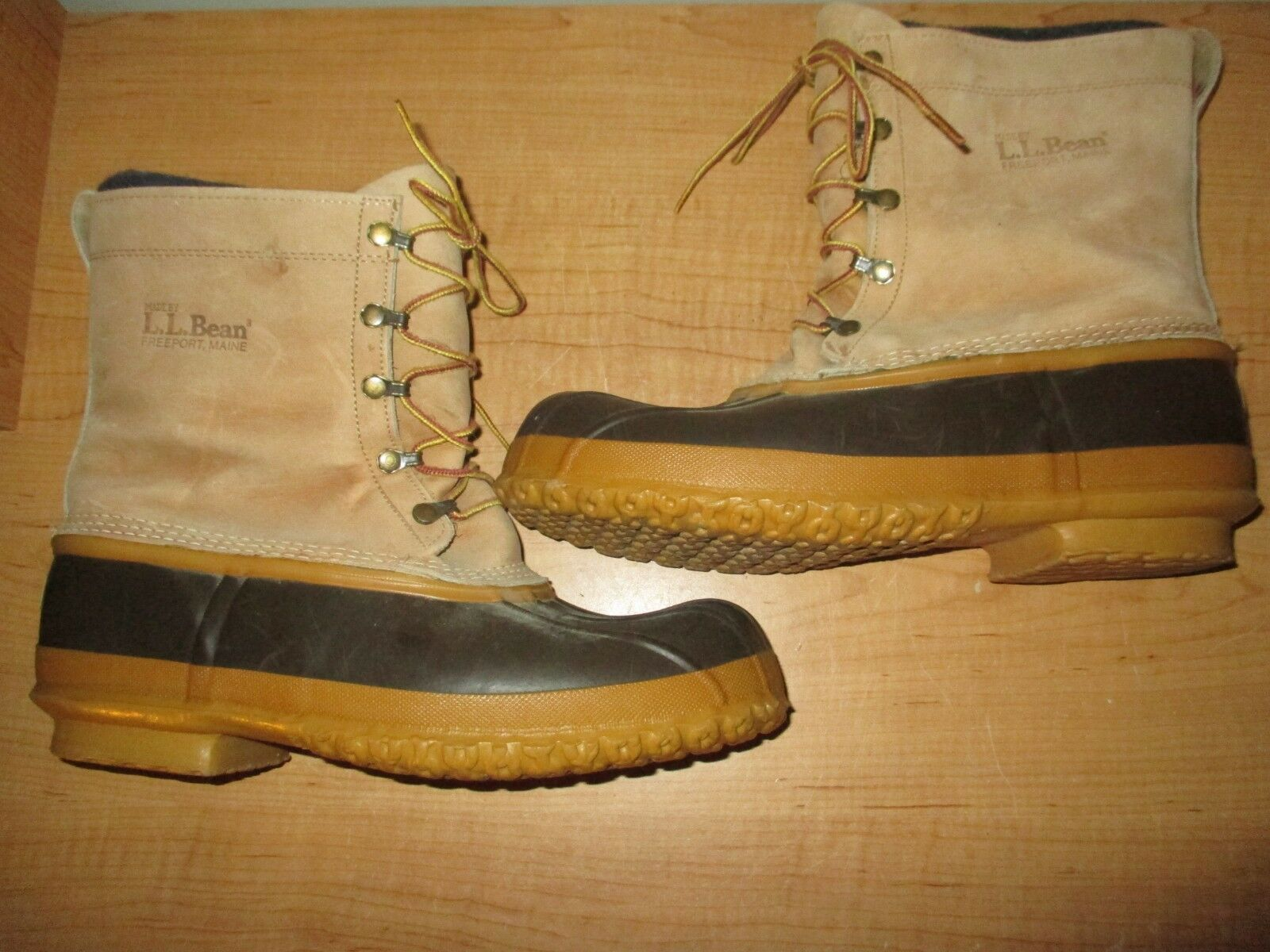 L.L. Bean Mens Größe 11 Snow Winter Hunting Stiefel Leather Insulated-  Barely Used