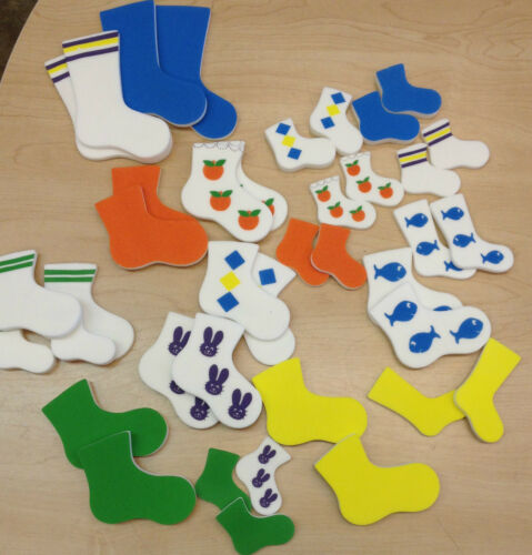 """size design and more- 75/% off retail shape Attribute /""""Socks/""""- sort by color"""