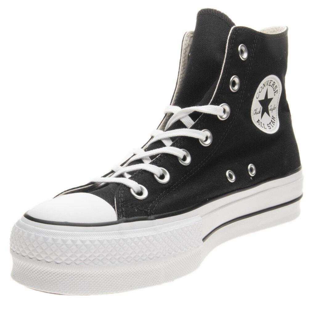 Schuhe Converse Chuck Taylor All Star Platform Hi Aufzug 560845C Schwarz