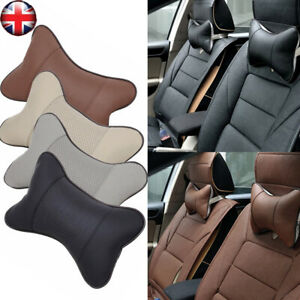Details About Uk Car Seat Headrest Pillow Pad Memory Foam Travel Neck Rest Support Cushion