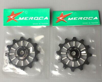 1* MEROCA bike 12T Narrow Wide Jockey Wheels Ceramic Bearing Derailleur Pulley