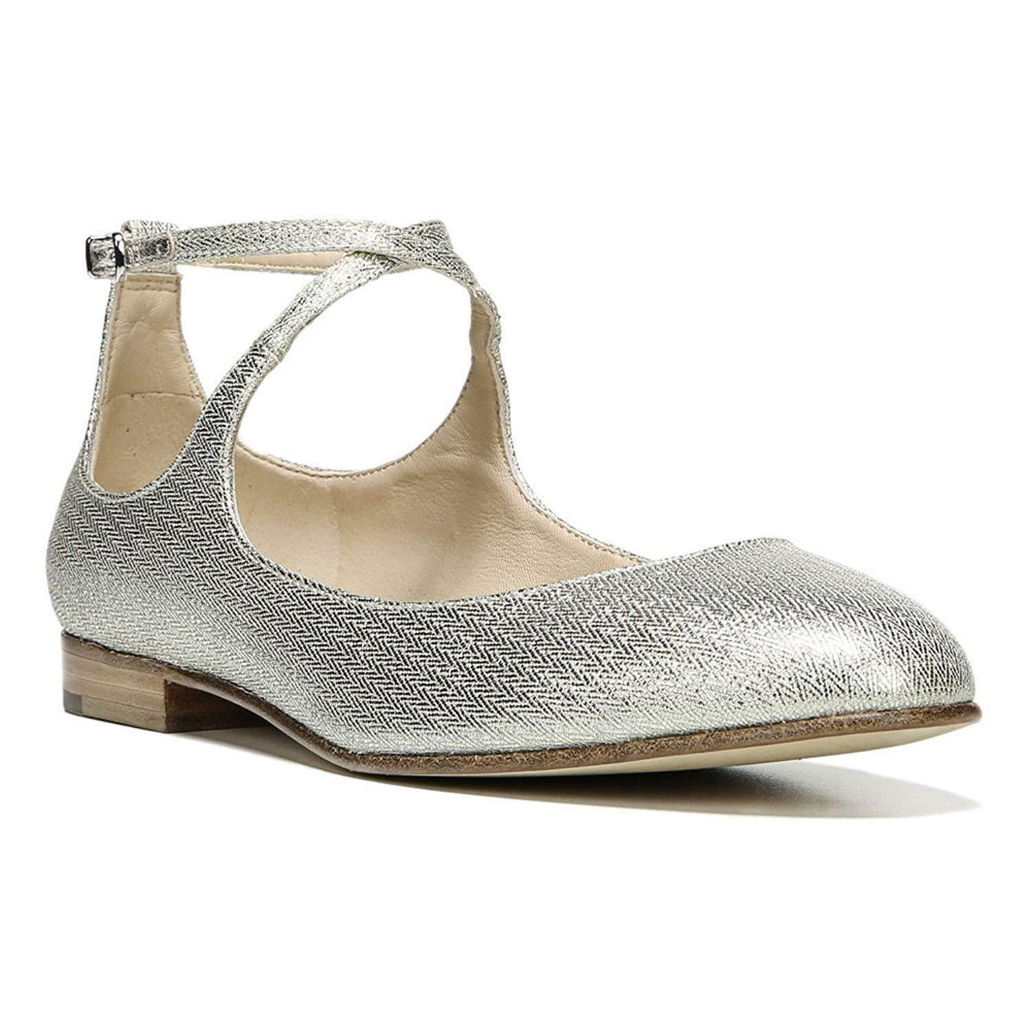 in vendita Via Spiga donna Yovela Ballet Flat-New With With With Defect (Platinum, 7.5)  presa
