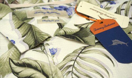 NWT $118 Tommy Bahama SS Green Purple Ivory Floral Shirt Mens S M L XL XXL Silk