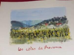 Jean-Pierre-Manual-Wind-Watercolour-Original-Signed-Wine-de-France-Rib-Provence