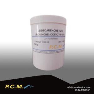 COENZIMA-Q10-100G-UBIDECARENONE-USO-UMANO-ANTIOSSIDANTE-PCM-3141