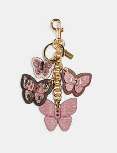 BN-Coach-Butterfly-Cluster-Bag-Charm-snake-embossed-leather