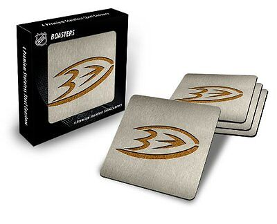 NHL Montreal Canadiens Boaster Stainless Steel Coaster Set of 4